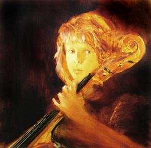 Debbie With My Cello