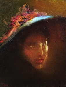 """""""Flowers In Her Hat""""     10""""x8"""""""