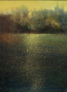 """Gold On The Water    16""""x12"""""""