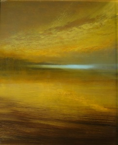 "Reflections In A Golden Pond   24""x20"""