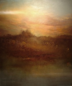 "Land's End, Day's End         38""x32"""