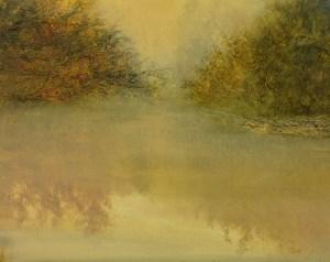 "River Fog             16""x20"""