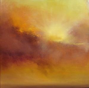 """""""Hammonasset Sunburst""""  24″x24″  oil oncanvas"""