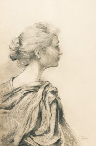"""In Profile""  pencil"