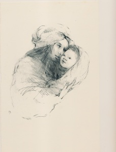 """The Newborn""     pencil"
