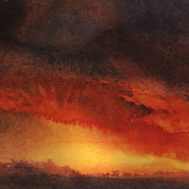 """The Red Cloud (6"""" x 9"""")"""