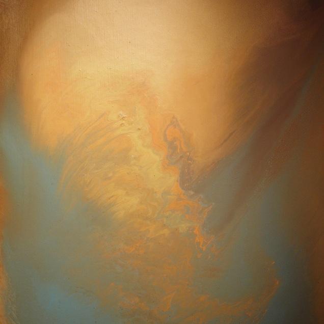 "A Wisp Of A Cloud (20"" x 16"", oil on panel)"
