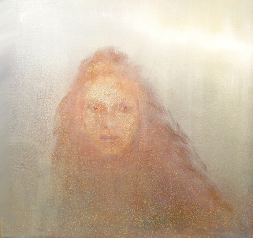 """Light Struck (Oil On Canvas,  20""""x20"""")"""