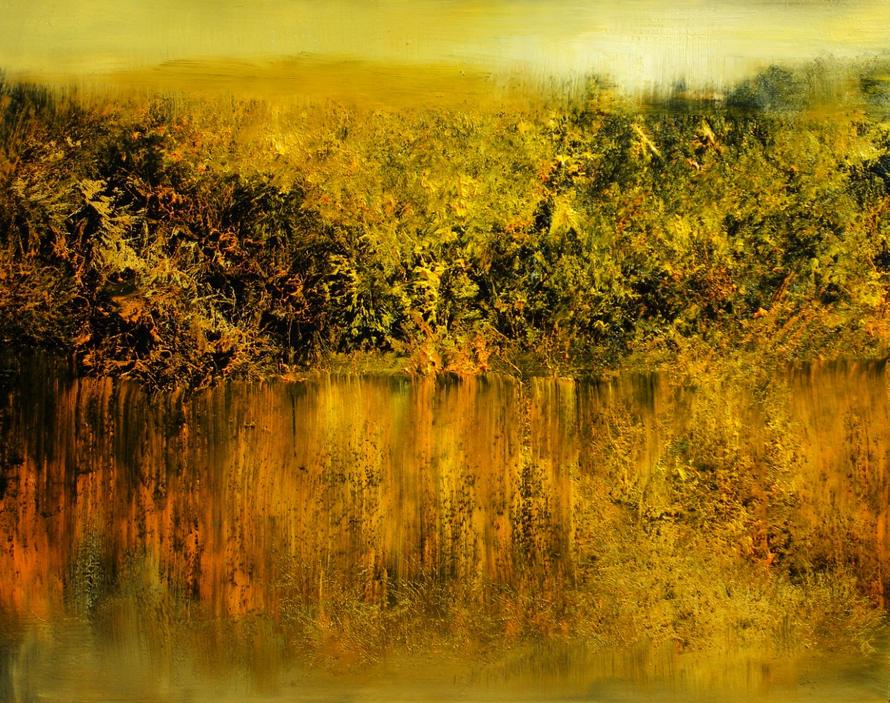"Lake's Edge (Oil,16"" x 20"")"