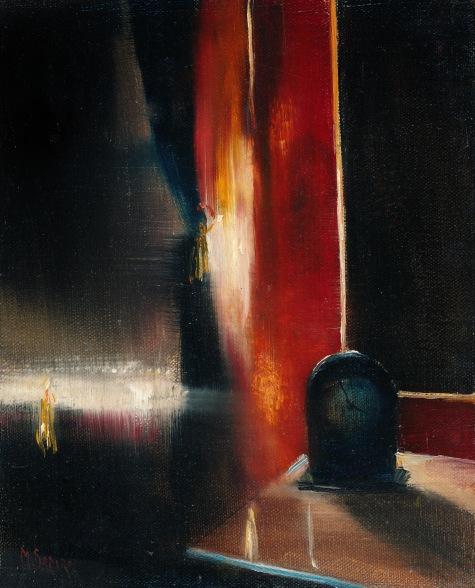 The Black Clock (Painting)