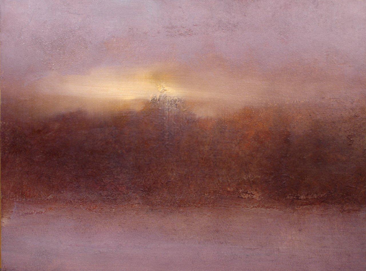 "Gray Morning (12""x16"", Oil On Panel)"