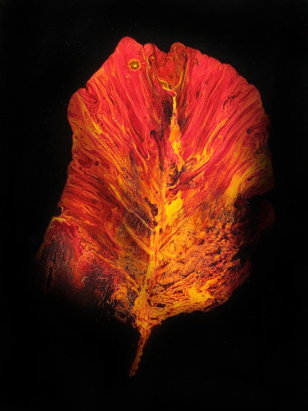 September Leaf (Painting)