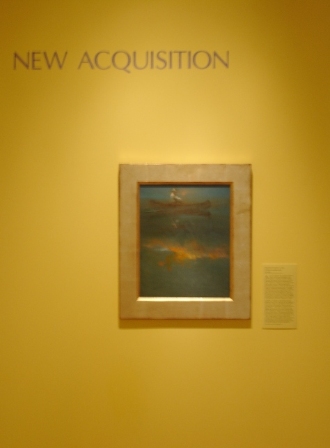 """Still Water, Sunrise Reflected"" acquired by the New Britain Museum of American Art for their permanent collection, 2002 (oil on panel; 20 x 16 in.)"