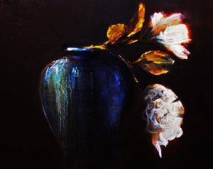 Two Roses, BlueStoneware