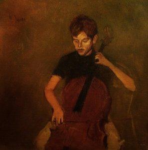 The Cellist, 1965