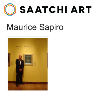 My artwork is available at Saatchi Art