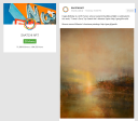 Saatchi Art features Maurice Sapiro to celebrate Turner's birthday