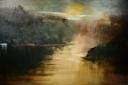 "oil on canvas  48""x72"""