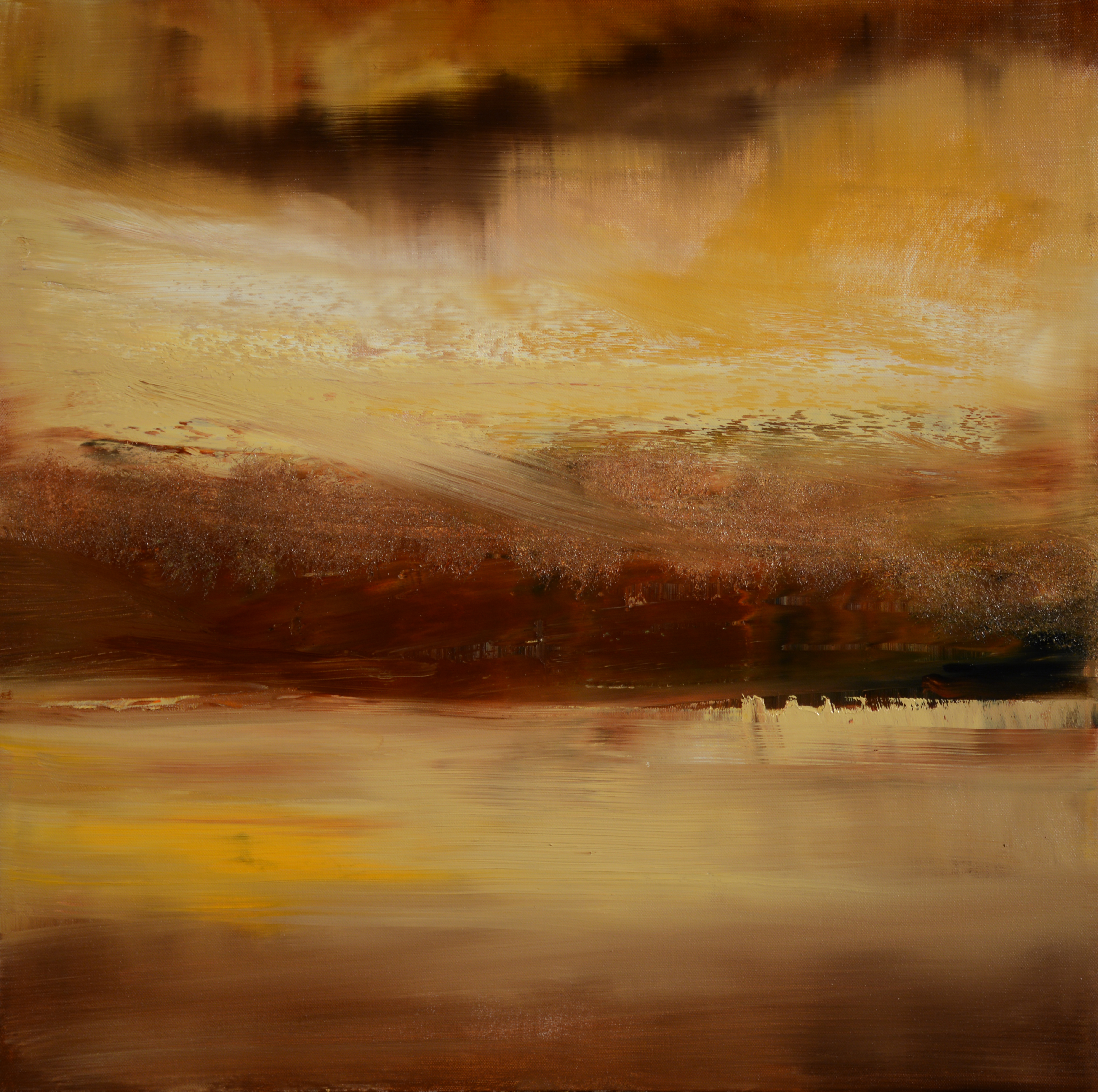 across-the-bay-before-the-rain | Maurice Sapiro